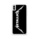 Metallica White Logo iPhone X | XR | XS | XS Max Case
