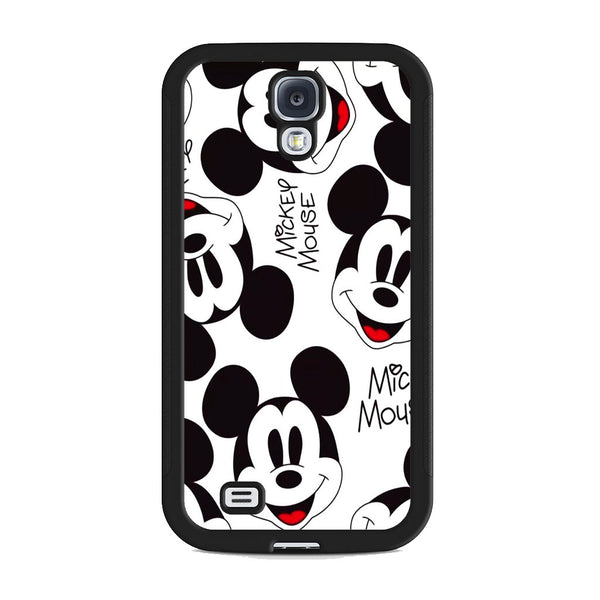 Mickey Mouse Head Smile Samsung Galaxy S4 Case