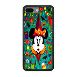 Minnie Mouse Halloween Doodle iPhone 8 Plus Case