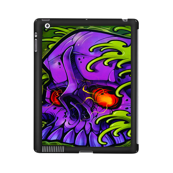 Monster Skull Green Slime iPad 2 | 3 | 4 Case
