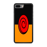 Naruto Shippuden Uzumaki Clan Logo iPhone 8 Plus Case