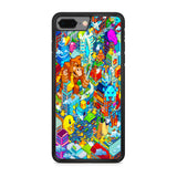 Nintendo Character Game City iPhone 8 Plus Case