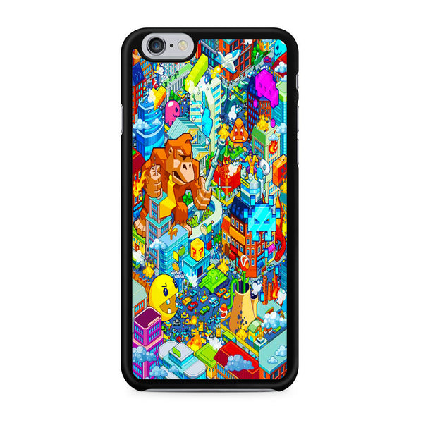 Nintendo Character Game City iPhone 6 | 6S Case