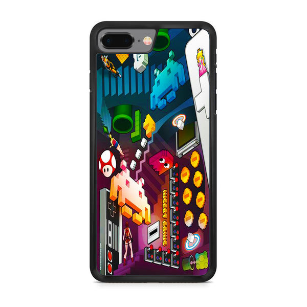 Nintendo Pixel Game iPhone 8 Plus Case