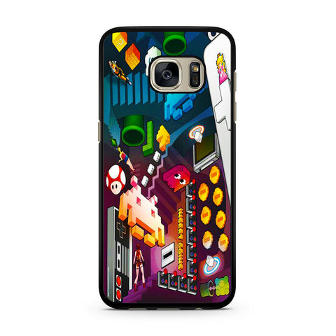 Nintendo Pixel Game Samsung Galaxy S7 | S7 Edge Case