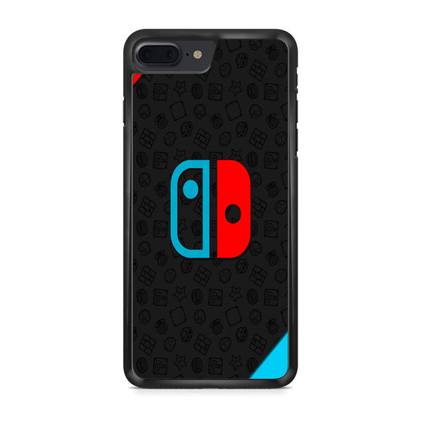brand new d4bad 06871 Nintendo Switch Blue Red Logo iPhone 7 Plus Case