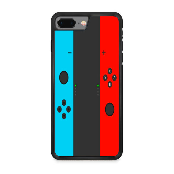 Nintendo Switch Neon Blue Red iPhone 8 Plus Case