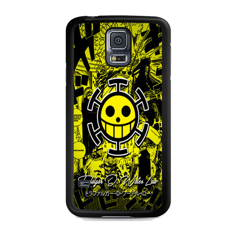 One Piece Trafalgar D Law Comic Logo Samsung Galaxy S5 Case