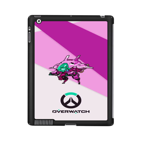 Overwatch D Va Pixel Cover iPad 2 | 3 | 4 Case