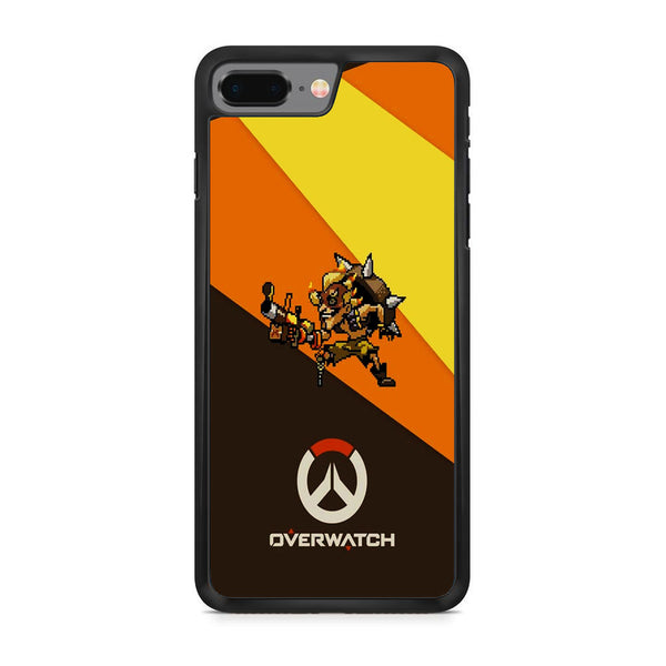 Overwatch Junkrat Pixel Cover iPhone 8 Plus Case