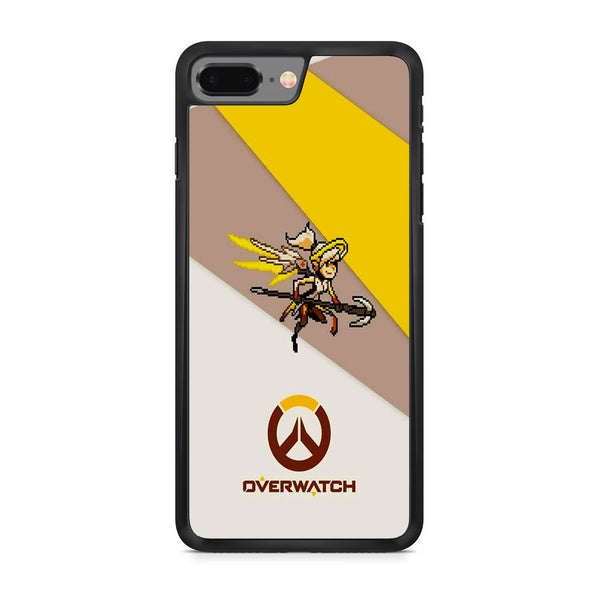 Overwatch Mercy Pixel Cover iPhone 8 Plus Case
