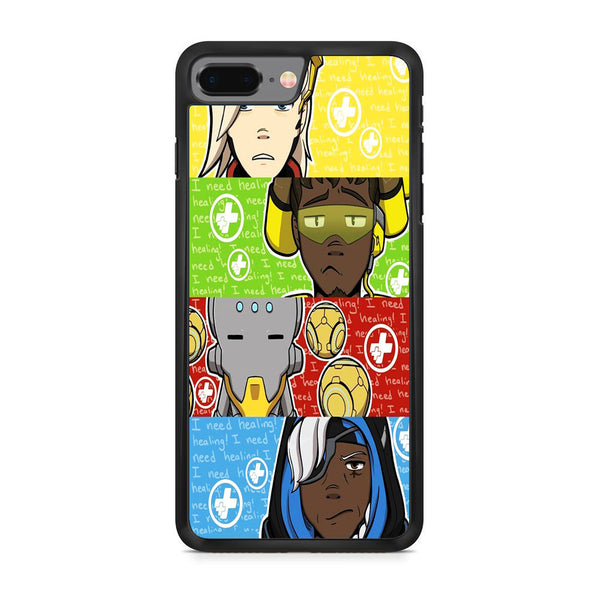Overwatch Support Team iPhone 8 Plus Case