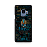 Ravenclaw Quote Logo Samsung Galaxy S9 | S9 Plus Case