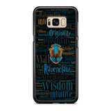 Ravenclaw Quote Logo Samsung Galaxy S8 | S8 Plus Case
