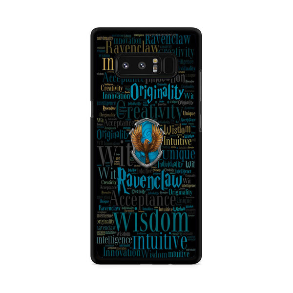 Ravenclaw Quote Logo Samsung Galaxy Note 8 Case