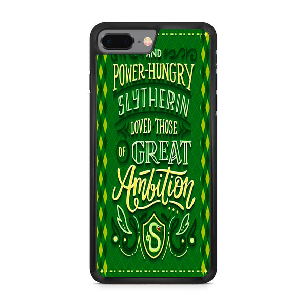 Slytherin Ambition Poster iPhone 8 Plus Case