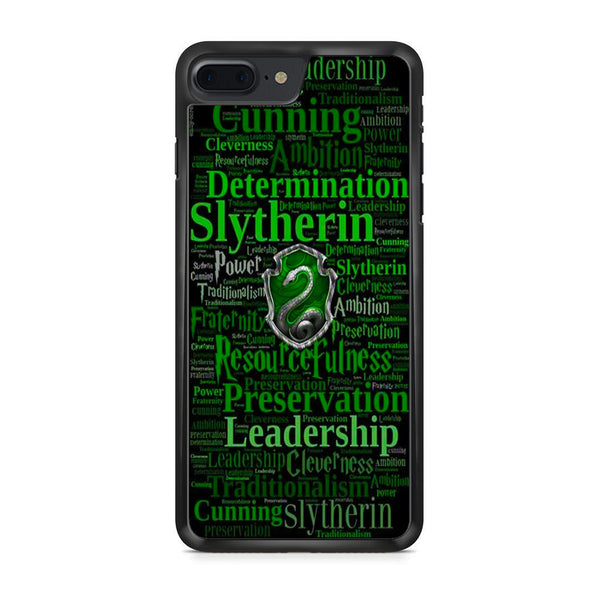 brand new d0705 86e8f Slytherin Quote Logo iPhone 7 Plus Case