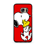 Snoopy And Woodstock Red Samsung Galaxy S7 | S7 Edge Case