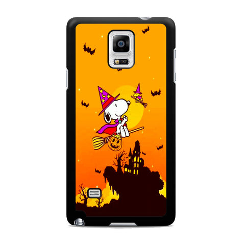 Snoopy Helloween Wizard Samsung Galaxy Note 4 Case