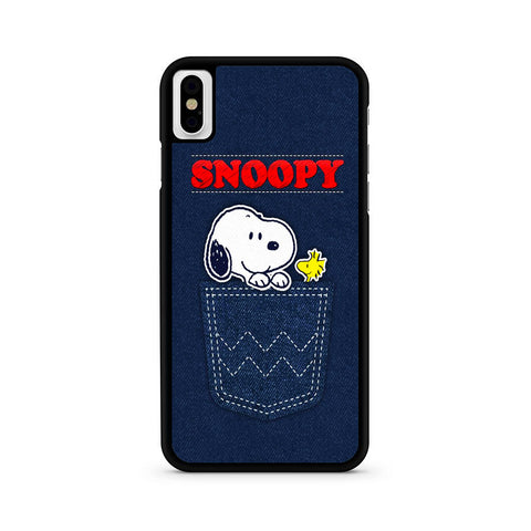 Snoopy Jeans Pocket iPhone X | XR | XS | XS Max Case