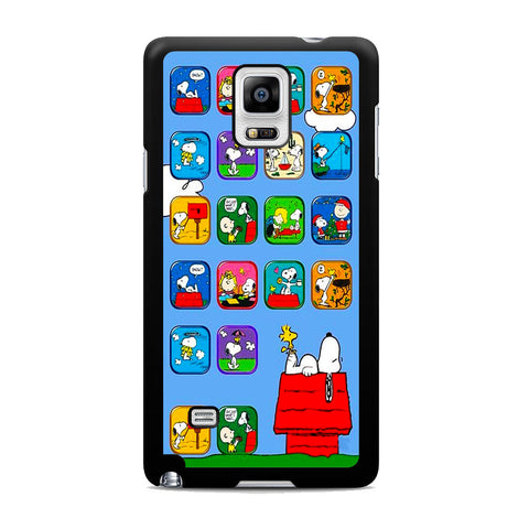 Snoopy Nice Dream Activity Samsung Galaxy Note 4 Case