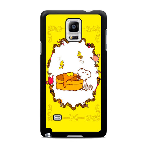 Snoopy Pancake Samsung Galaxy Note 4 Case