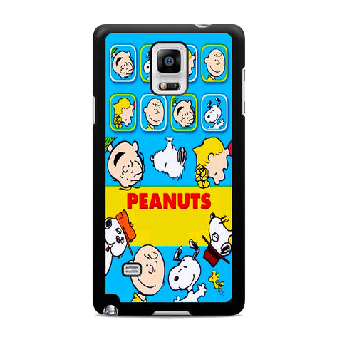 Snoopy Peanuts And Friends Samsung Galaxy Note 4 Case