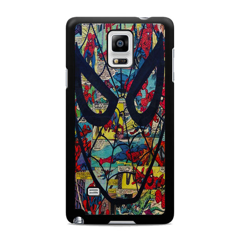 Spider Man Mask Comic Samsung Galaxy Note 4 Case