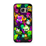 Splatoon Colorful Splat Samsung Galaxy S7 | S7 Edge Case