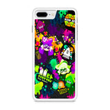 Splatoon Colorful Splat iPhone 8 Plus Case