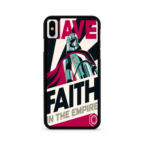 Star Wars Captain Phasma Faith iPhone X | XR | XS | XS Max Case