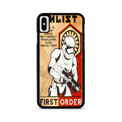 Star Wars Stormtrooper First Order iPhone X | XR | XS | XS Max Case