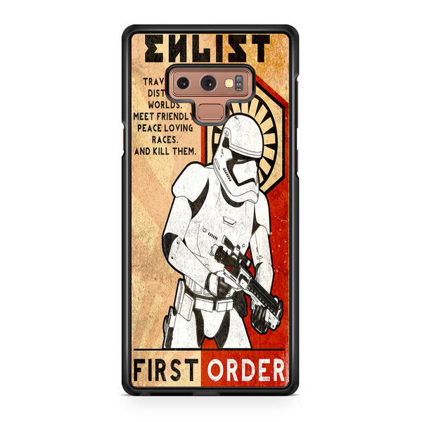 quality design c127e 36921 Star Wars Stormtrooper First Order Samsung Galaxy Note 9 Case