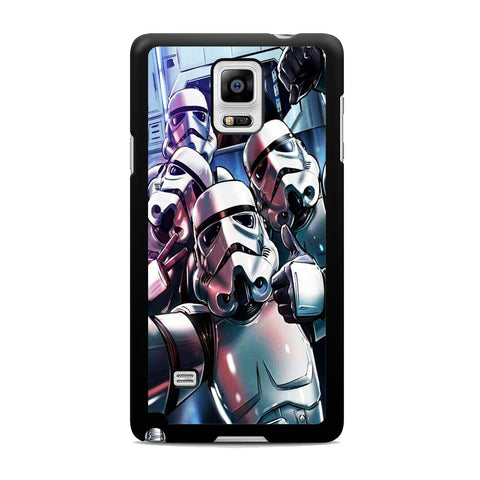 Star Wars Stormtrooper Selfie Samsung Galaxy Note 4 Case