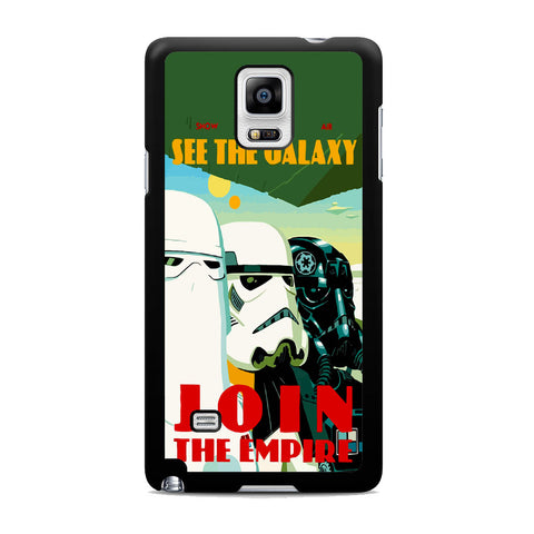 Star Wars Stormtroopers Quote Samsung Galaxy Note 4 Case