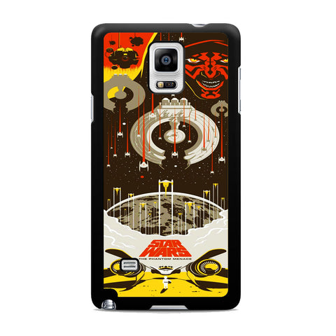 Star Wars The Phantom Menace Samsung Galaxy Note 4 Case
