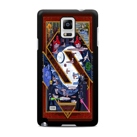 Star Wars VI Pop Art Samsung Galaxy Note 4 Case