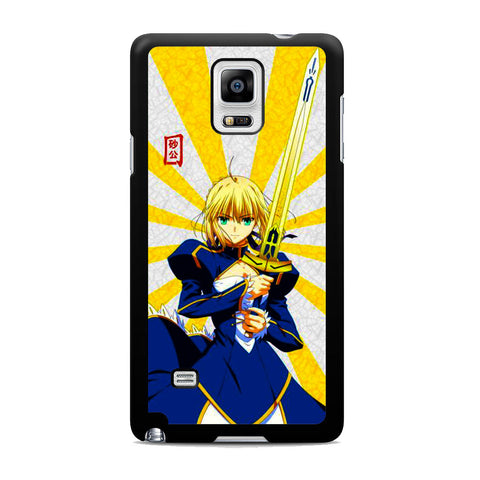 Stay Night Saber Fate Rising Sun Samsung Galaxy Note 4 Case