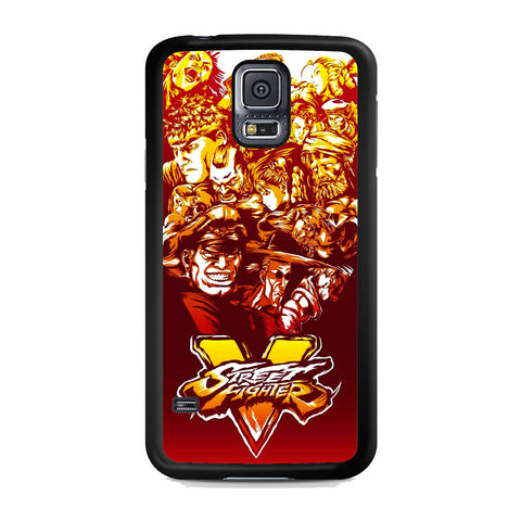 Street Fighter Characters Logo Samsung Galaxy S5 Case