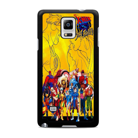 Street Fighter Vs X-Men Samsung Galaxy Note 4 Case