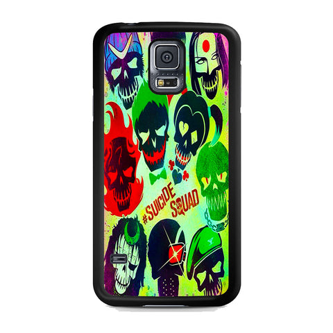 Suicide Squad Cover Samsung Galaxy S5 Case