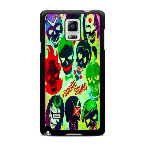 Suicide Squad Cover Samsung Galaxy Note 4 Case