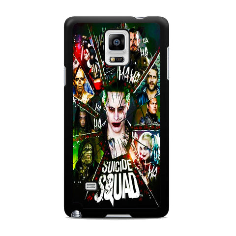 Suicide Squad Villains Samsung Galaxy Note 4 Case