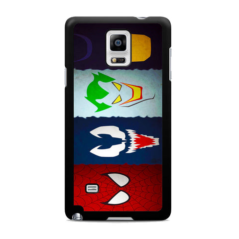 Super Heroes DC Marvel Samsung Galaxy Note 4 Case