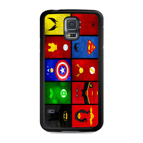 Superheroes Marvel And DC Samsung Galaxy S5 Case