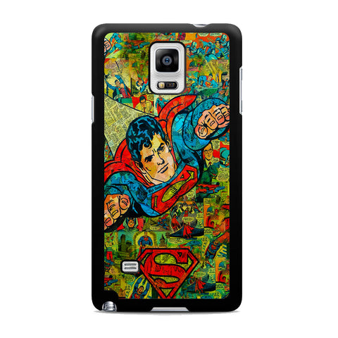 Superman Comic Samsung Galaxy Note 4 Case