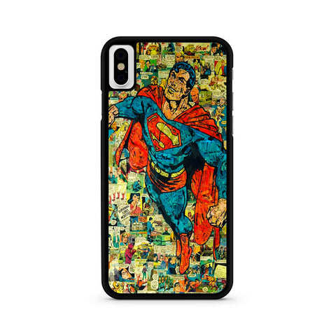 Superman Flying Comic iPhone X | XR | XS | XS Max Case