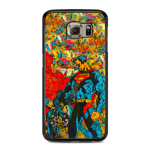 Superman Vs Batman Comic Samsung Galaxy S6 | S6 Edge | S6 Edge Plus Case