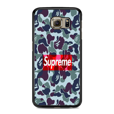 Supreme Logo Camo Samsung Galaxy S6 | S6 Edge | S6 Edge Plus Case