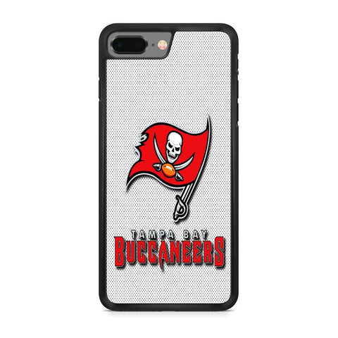 Tampa Bay Buccaneers White Logo iPhone 8 Plus Case